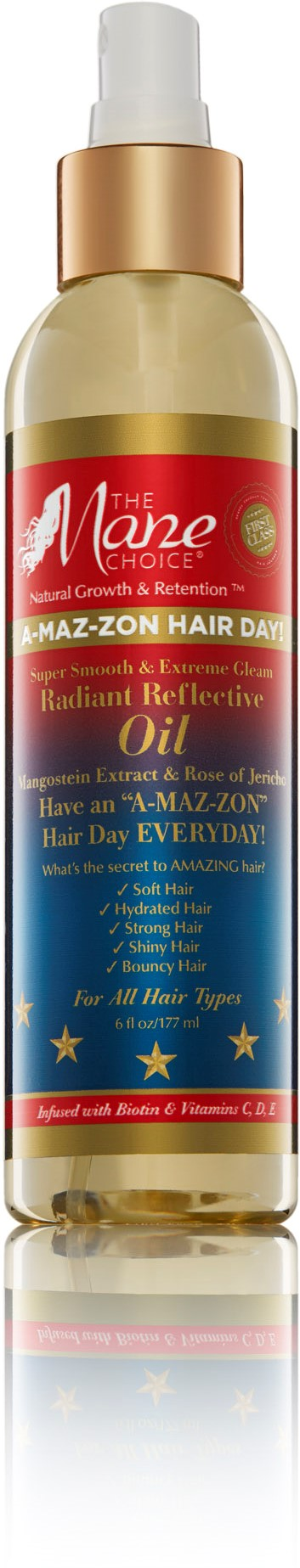 The Mane Choice A-Maz-Zon Hair Day Radiant Reflective Oil