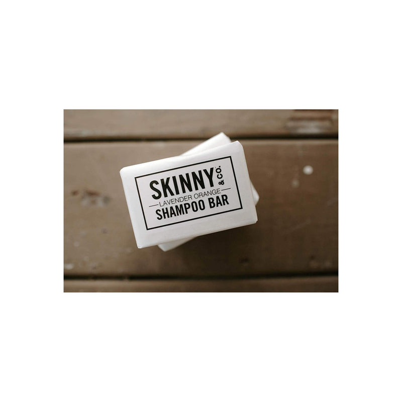 SKINNY & CO. Lavender-Orange Shampoo Bar