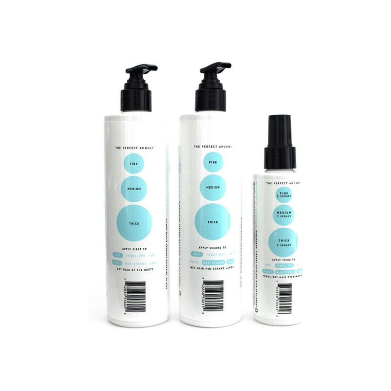 Use Me Hair Shampoo, Conditioner, & Vitamist + Biotin Set, Hydrating, Strengthening, Moisturizing Heat Protectant For Dry Hair, Damaged Hair, Frizz Ease with Agave, Kokum, Paraben Free, Sulfate Free
