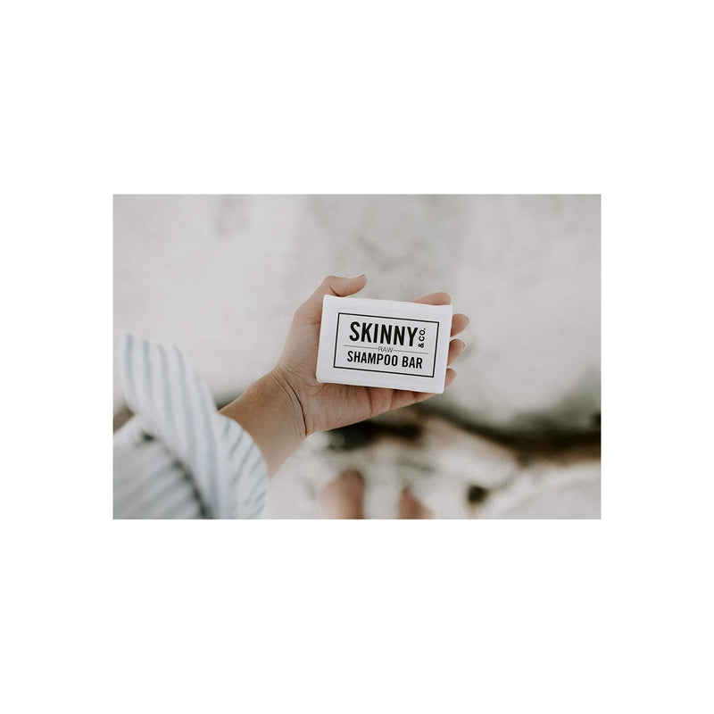 SKINNY & CO. Fragrance-Free Raw Shampoo Bar