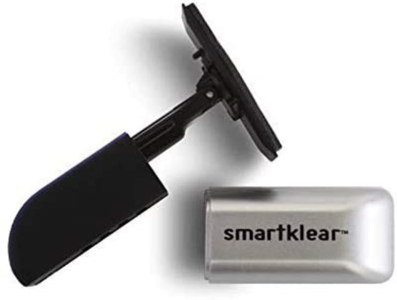 Carbon KleanSmartKlear Black Rubber & Silver Metallic