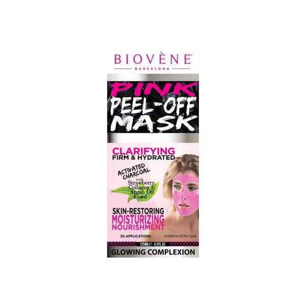 Biovène Pink Peel Off Mask Tube