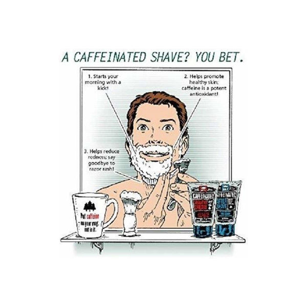 Pacific Shaving Company Caffeinated Aftershave - Helps Reduce Appearance of Redness, Safe & Natural Ingredients, Soothes Skin, Made in USA, 3.4 oz