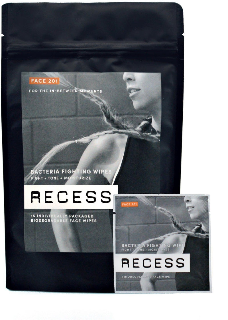 Recess Face 201: Bacteria Fighting Face Wipes