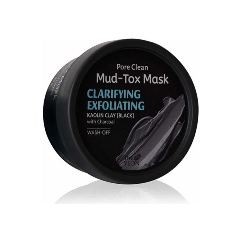 The Yeon Clarifying Exfoliating Pore Clean Black Mud Tox Mask