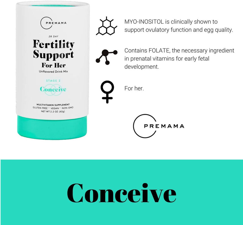 Premama Fertility for Her Drink Mix