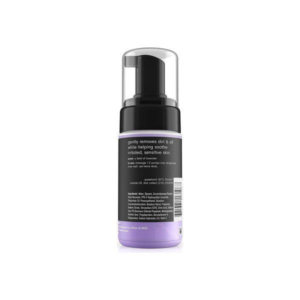C&C by Clean & Clear total zen calming lavender mousse cleanser