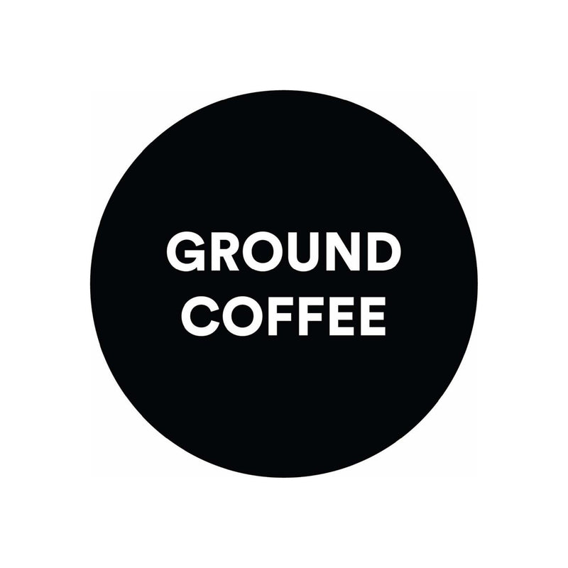 For Five Coffee Roasters Mott Espresso Dark Roast (Origin: Africa, India, & South America), Ground 12 oz