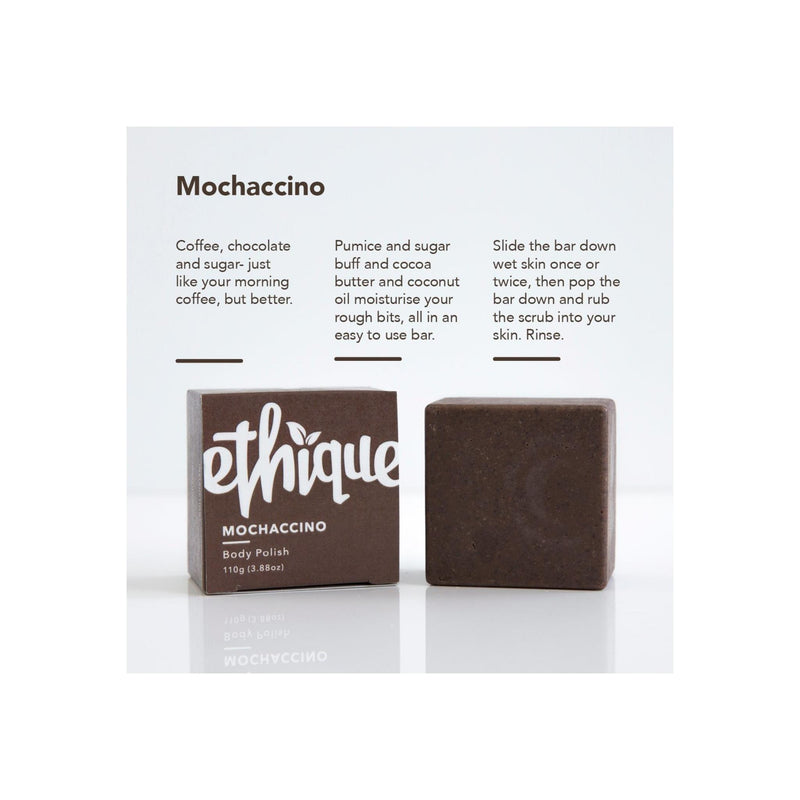 Ethique Eco-Friendly Body Polish, Mochaccino 3.88 oz