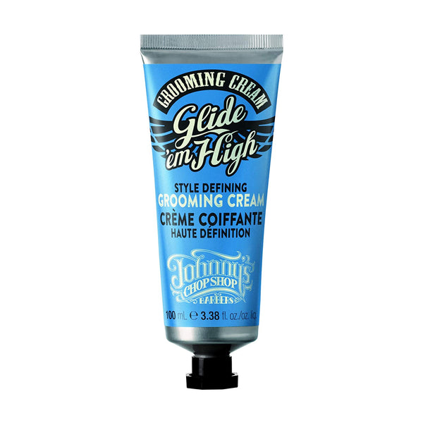 Johnny's Chop Shop Men's Glide Em High Style Defining Grooming Cream