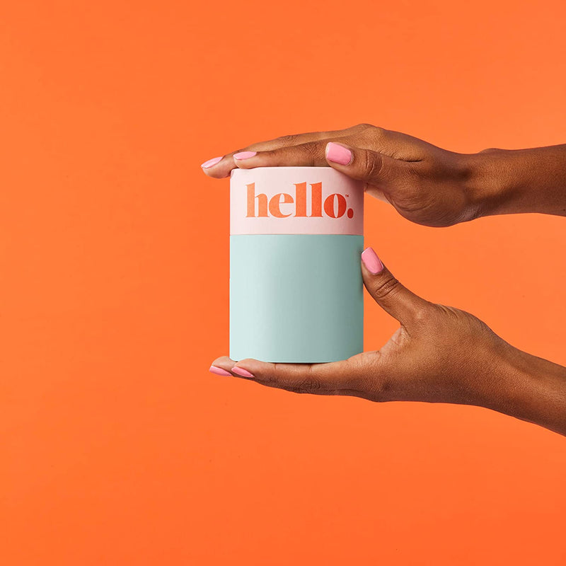 Hello Cup Double Box, Orange (Small/Medium) & Fuchsia (Large)