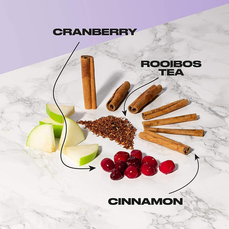 OFFBLAK Caff Free | Nicely Spicy Cranberry & Cinnamon Herbal Tea