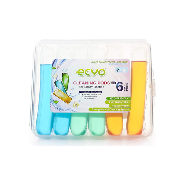 Ecyo Cleaning Pods For Spray Bottles Combo-Pack