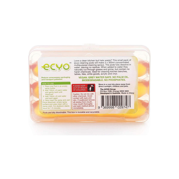 Ecyo Multipurpose Cleaning Pods