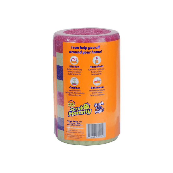 Scrub Mommy 4 Count Scrubber Roll Set