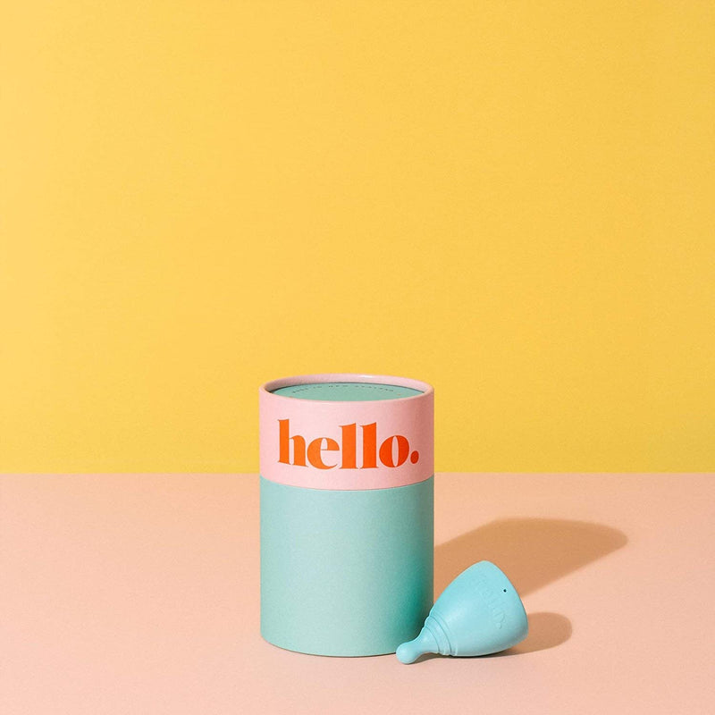 Hello Cup in Blue, Small/Medium