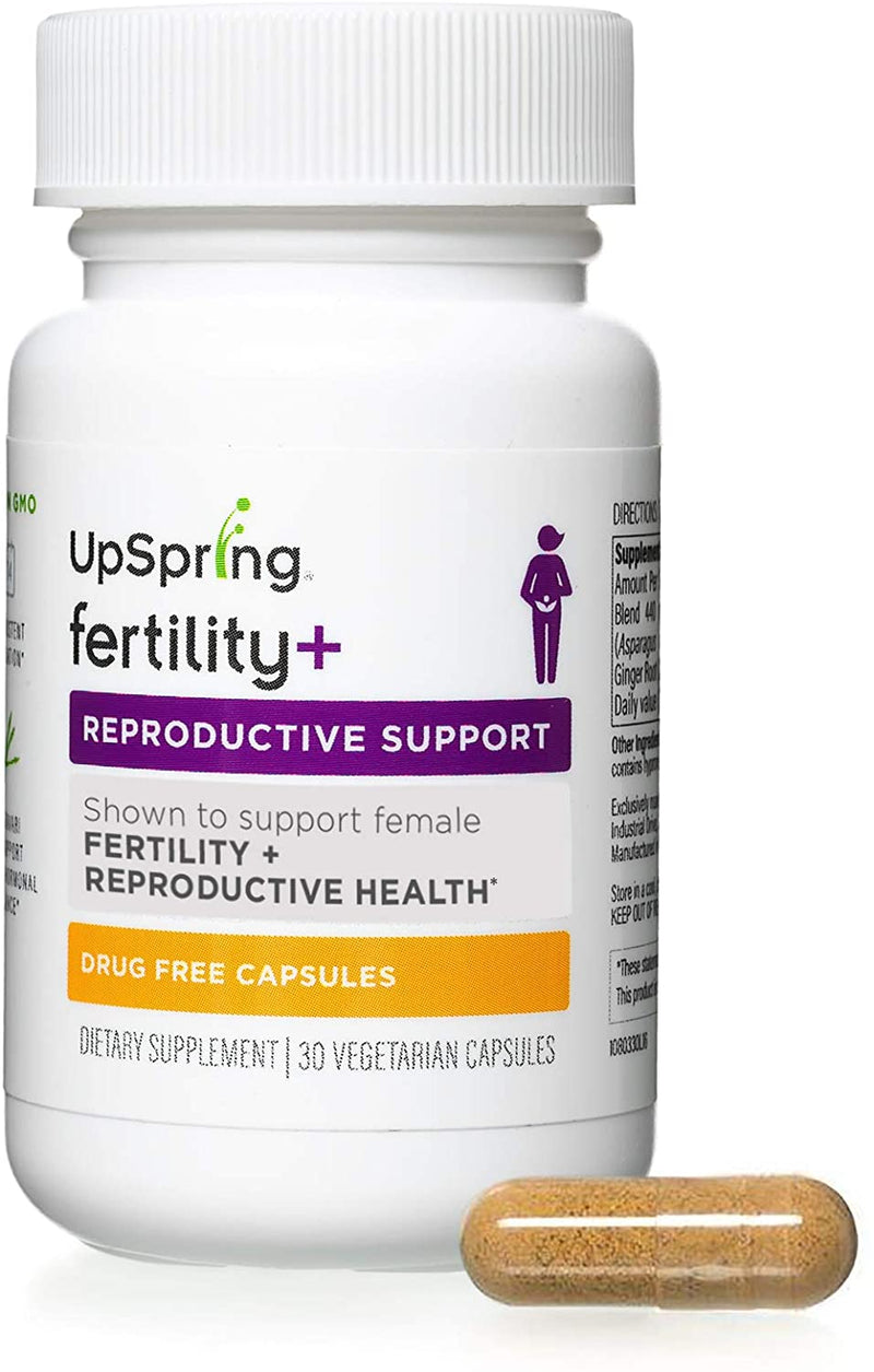 UpSpring Fertility+ Women & HeNatal Men's Fertility Capsules Bundle 1 ea