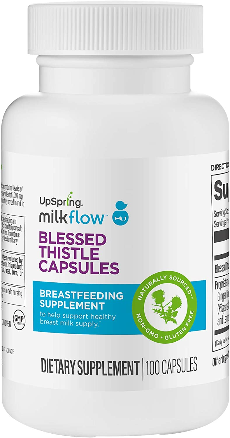 UpSpring Milkflow Blessed Thistle Capsules