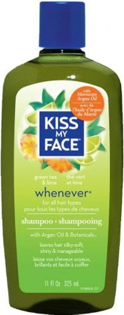 Kiss My Face Green Tea & Lime Whenever Shampoo