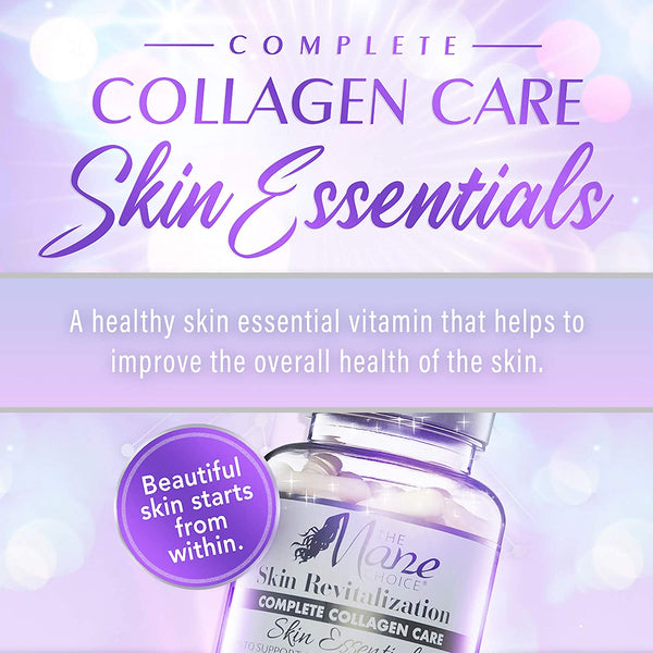The Mane Choice Complete Collagen Care Skin Essentials Capsules