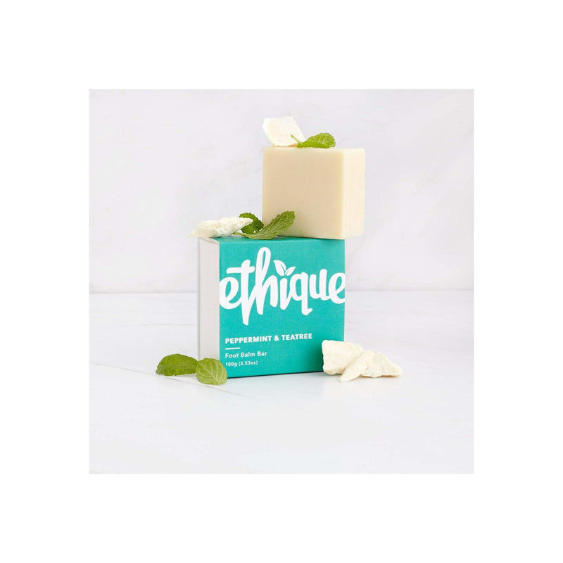 Ethique Peppermint & Teatree Foot Balm Bar