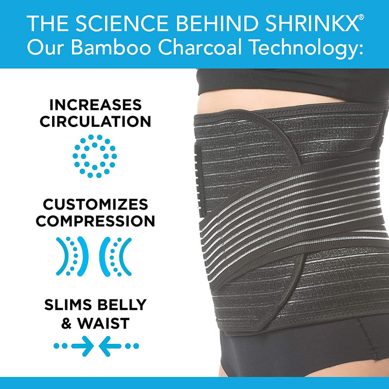 UpSpring Shrinkx Belly Bamboo Charcoal (L/XL)