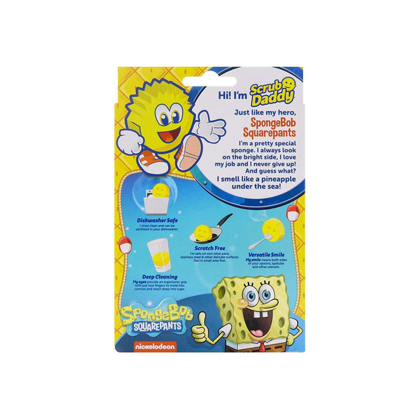 Scrub Daddy Pineapple Under the Sea Sponge