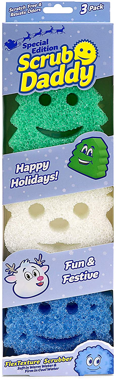 Scrub Daddy Holiday Shapes Pack