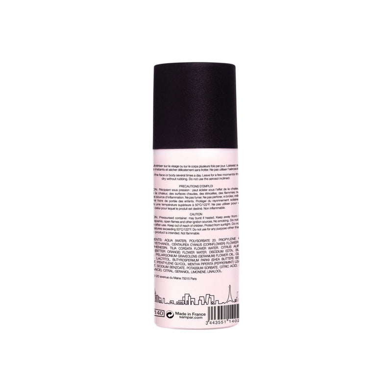 SAMPAR - French Rose Water Mist - Eco-Friendly Rose Anti-Pollution Hydrating Mist - ALL SKIN TYPES - Cruelty-Free Beauty Made In Paris (2.5 oz)