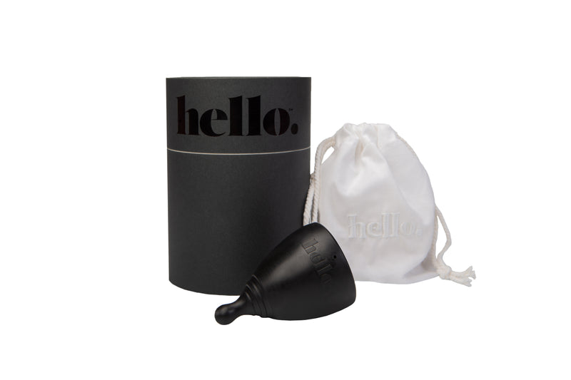 Hello Cup in Black, Large