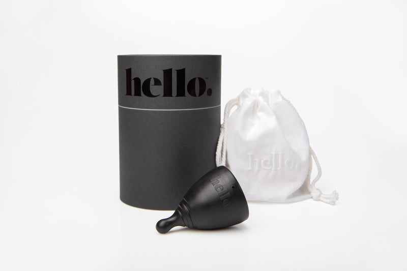 Hello Cup in Black, Small/Medium