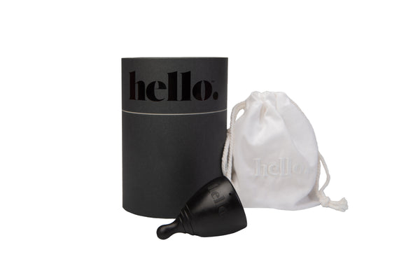 Hello Cup in Black, Extra-Small