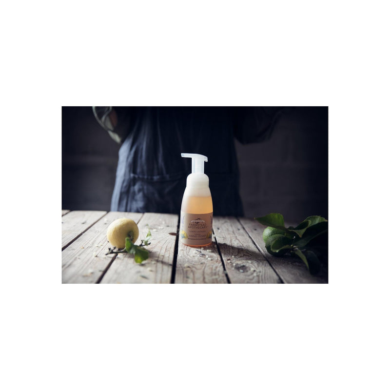 Farmstead Apothecary Lemon Lavender Foaming Hand Soap
