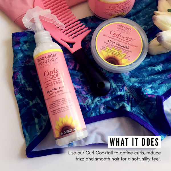 Jane Carter Solution Curls to Go Curl Cocktail Conditioning Cream (12oz) - Hydrating, 1each