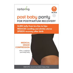 UpSpring Post Baby Panty Black (S/M)