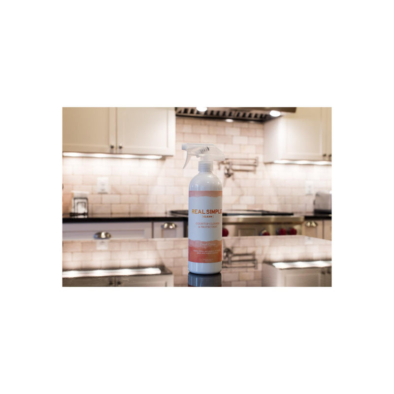 Real Simple Clean Fresh Citrus Cooktop Cleaner & Protectant