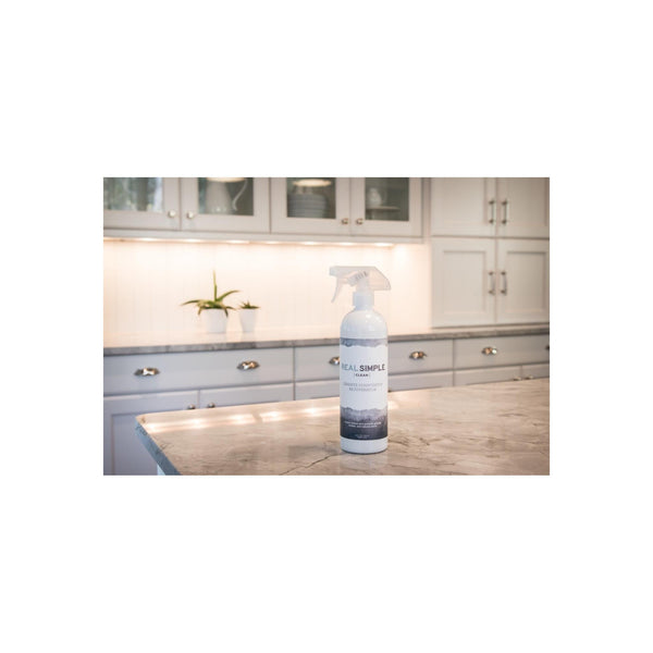 Real Simple Clean Granite Countertop Rejuvenator, 24 ounce, Returns the Natural Shine to Your Home Granite Surface - Made in USA