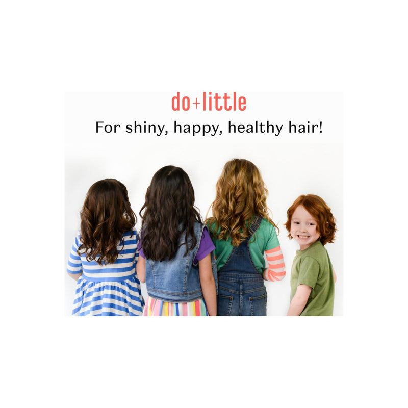 do+ Little Shiny Happy Kids Detangler and Leave in Conditioner Spray, 6.7 fl oz