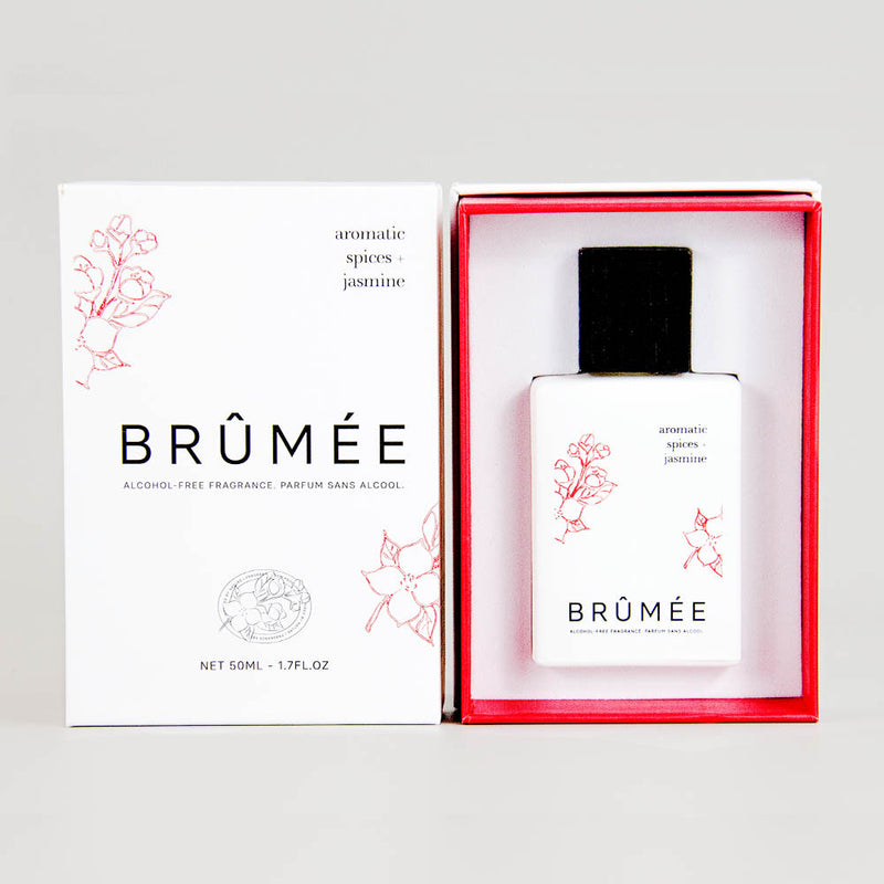 Brumee Aromatic Spices and Jasmine Alcohol-Free Fragrance