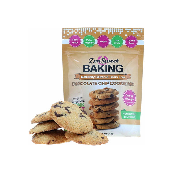 ZenSweet Baking Chocolate Chip Cookie Mix 9 oz
