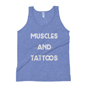 Muscles and Tattoos Unisex Tank Top