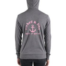 Load image into Gallery viewer, Inked and Fit Pink Logo hoodie
