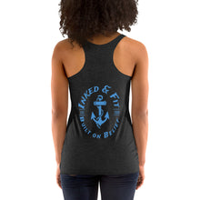 "Load image into Gallery viewer, ""Shut Up and Train!"" Women's Racerback Tank"