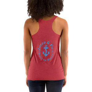 Look like a beauty train like a beast Women's Racerback Tank