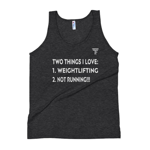 """Two Things I Love"" Mens Tank"