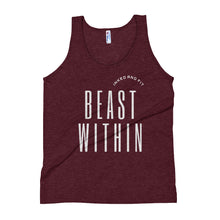 Load image into Gallery viewer, Beast Within Unisex Tank Top