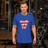 Inked and Fit Short-Sleeve Unisex T-Shirt