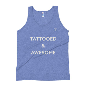 Tattooed and Awesome Tank top