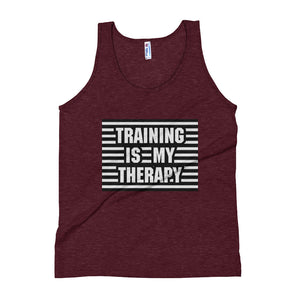 Training is my Therapy Unisex Tank Top