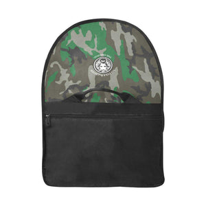 "15"" Laptop NFA The Original Green Camo Satchel Bag - The Funding Ninjas"